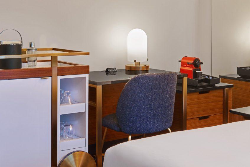 W Minneapolis The Foshay Luxury Hotel - Minneapolis, MN, USA - Guest Room Desk Detail
