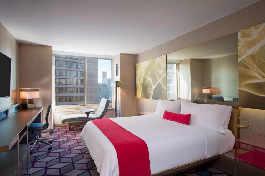 W New York Times Square Luxury Hotel - New York, NY, USA - Spectacular King Guest Room