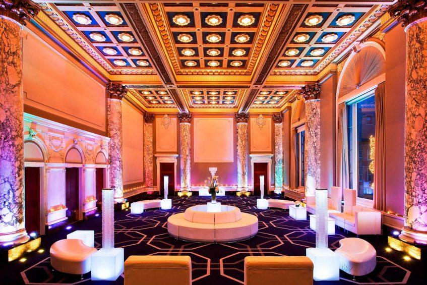 W New York Union Square Luxury Hotel - New York, NY, USA - Lounge Seating