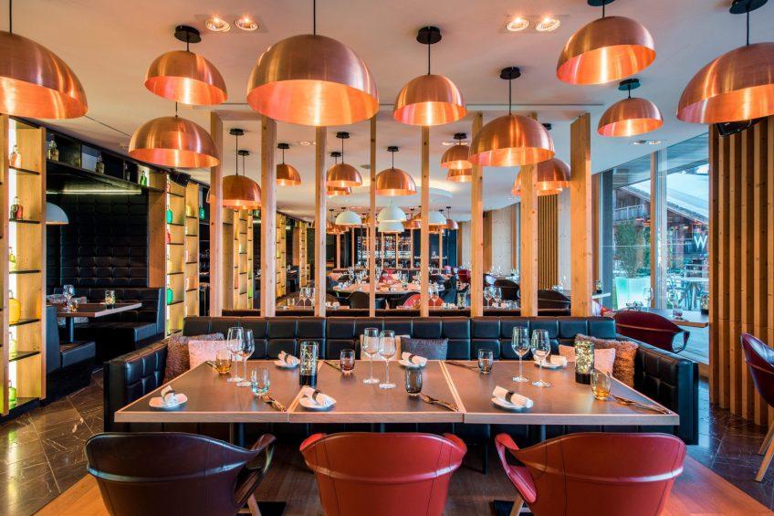 W Verbier Luxury Hotel - Verbier, Switzerland - W Kitchen Seating