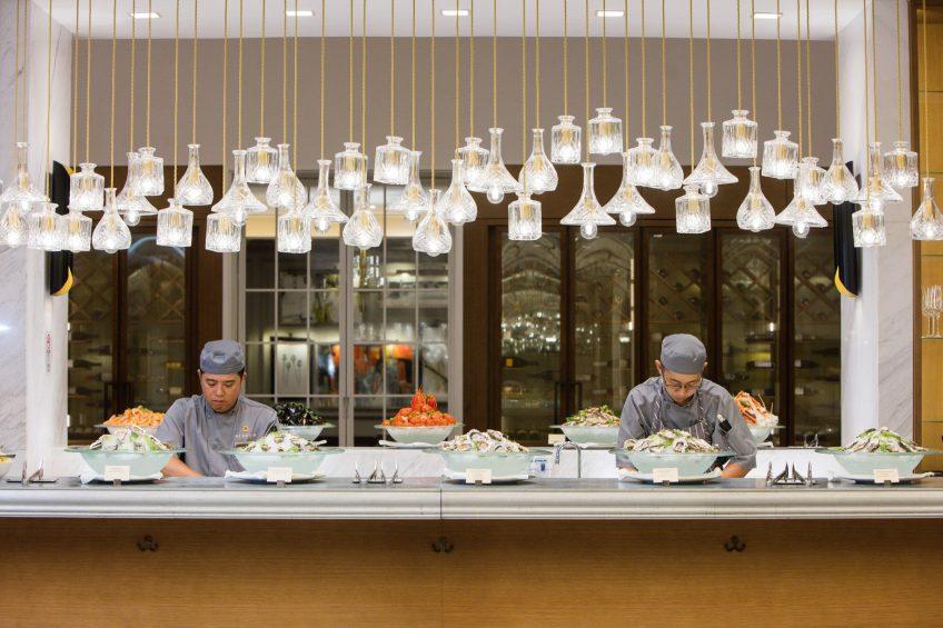 The St. Regis Macao Luxury Hotel - Cotai, Macau SAR, China - Kitchen