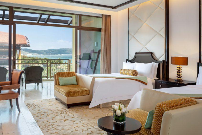 The St. Regis Sanya Yalong Bay Luxury Resort - Hainan, China - Premium Ocean View Guest Room