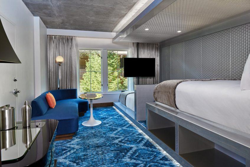 W Aspen Luxury Hotel - Aspen, CO, USA - Tiered Guest Room Queen View