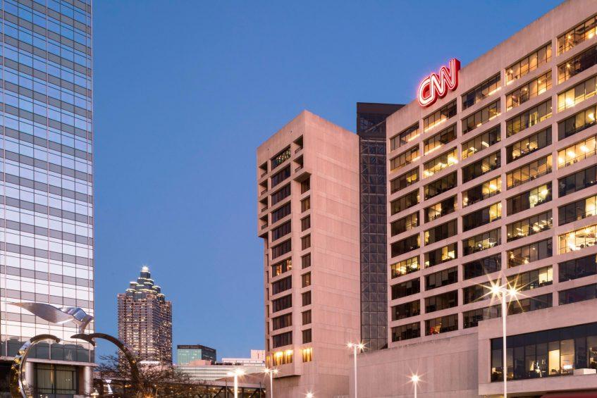 W Atlanta Downtown Luxury Hotel - Atlanta, Georgia, USA - CNN Center Atlanta