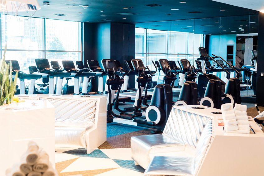 W Bellevue Luxury Hotel - Bellevue, WA, USA - FIT Hotel Gym