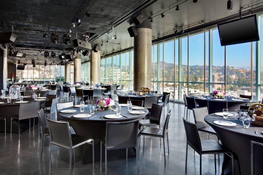 W Hollywood Luxury Hotel - Hollywood, CA, USA - The Loft Reception Setup