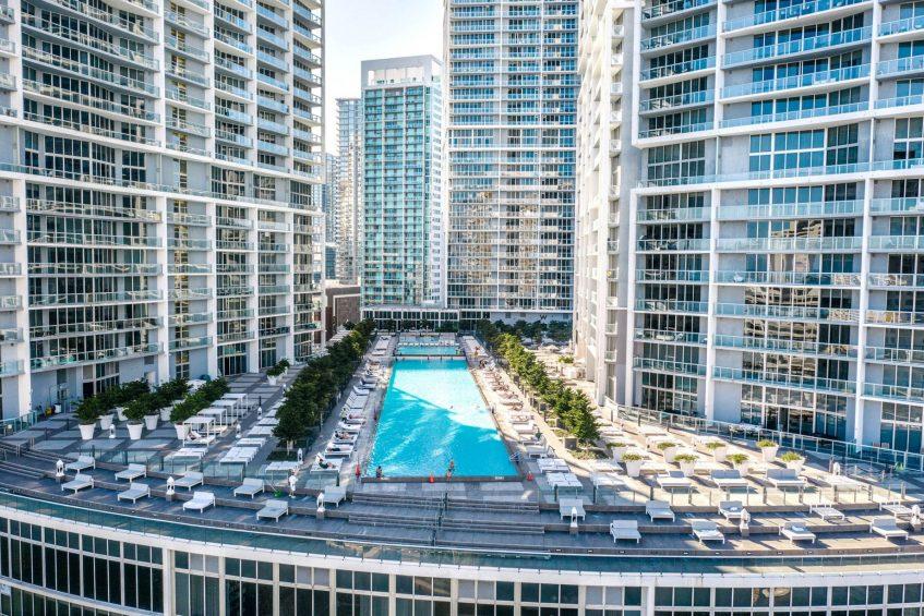 W Miami Luxury Hotel - Miami, FL, USA - WET Deck Pool