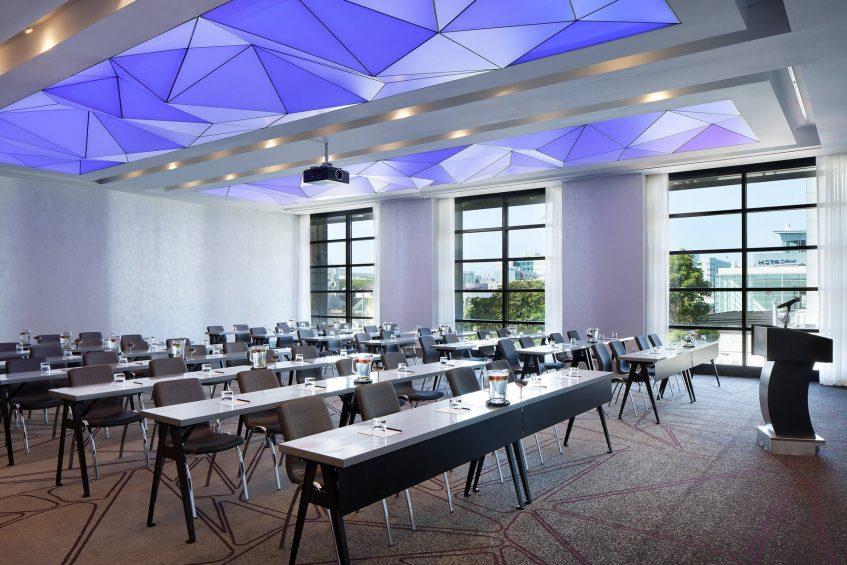 W San Francisco Luxury Hotel - San Francisco, CA, USA - Great Room Classroom Setup