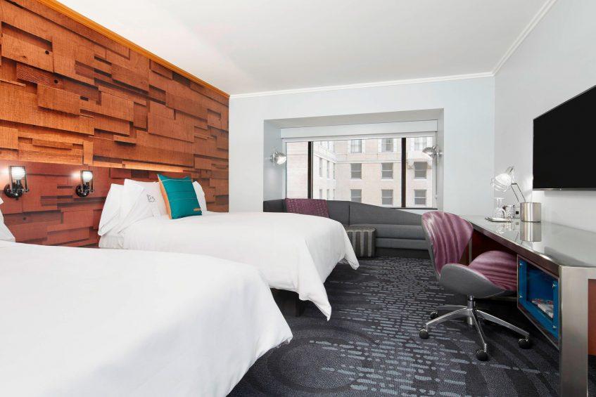 W Seattle Luxury Hotel - Seattle, WA, USA - Wonderful Guest Room Double