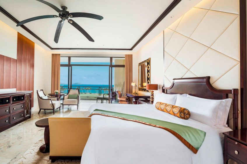 The St. Regis Sanya Yalong Bay Luxury Resort - Hainan, China - Premium Ocean View Room