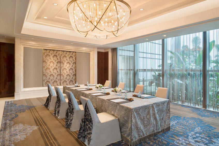 The St. Regis Zhuhai Luxury Hotel - Zhuhai, Guangdong, China - Astoria Boardroom Set Up