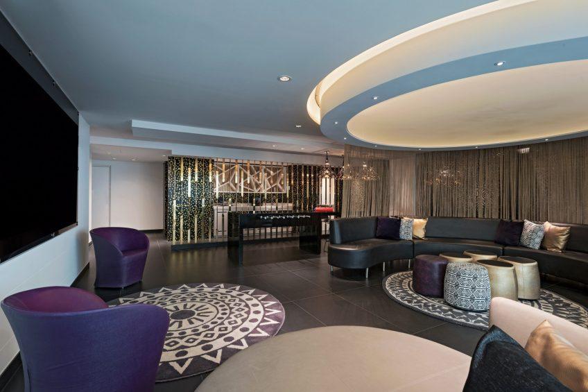 W Bogota Luxury Hotel - Bogota, Colombia - E Wow Suite Living Room
