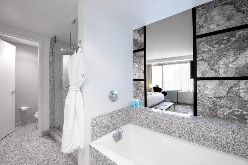W Boston Luxury Hotel - Boston, MA, USA - Marvelous Suite Bathroom Tub