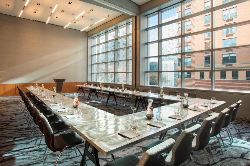 W Hoboken Luxury Hotel - Hoboken, NJ, USA - Studio 1 & 2 U Shape Setup