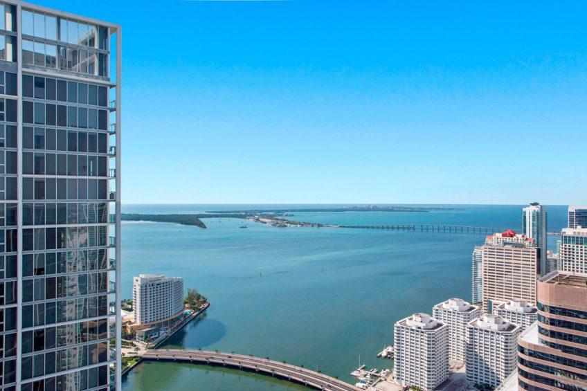 W Miami Luxury Hotel - Miami, FL, USA - WET Deck Infinity Pool View