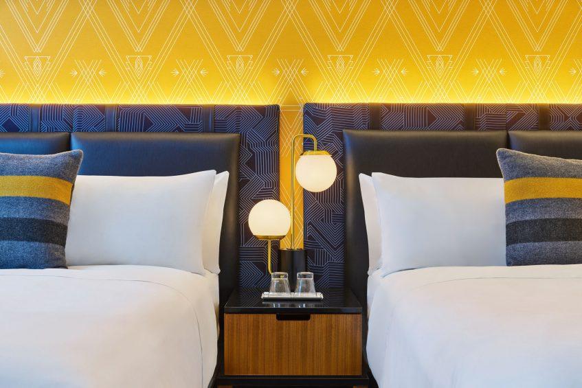 W Minneapolis The Foshay Luxury Hotel - Minneapolis, MN, USA - Wonderful Guest Room Beds