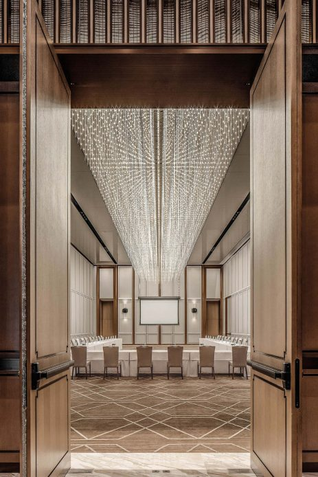The St. Regis Beijing Luxury Hotel - Beijing, China - Ballroom U Shape Meeting