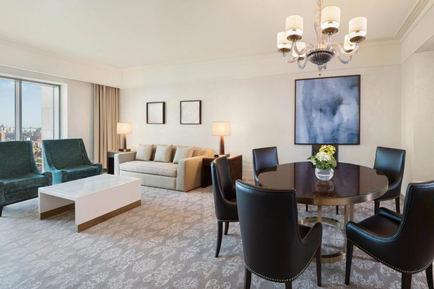 The St. Regis Cairo Luxury Hotel - Cairo, Egypt - Apartment Living Room
