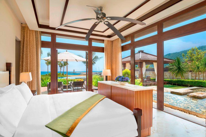The St. Regis Sanya Yalong Bay Luxury Resort - Hainan, China - Royal Seaside Two Bedroom Villa King Bedroom