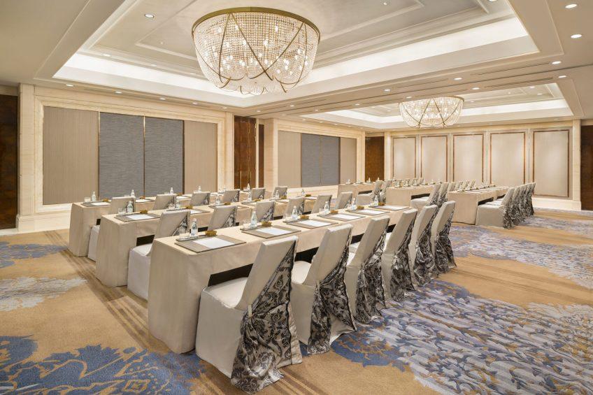 The St. Regis Zhuhai Luxury Hotel - Zhuhai, Guangdong, China - Astoria Classroom Set Up