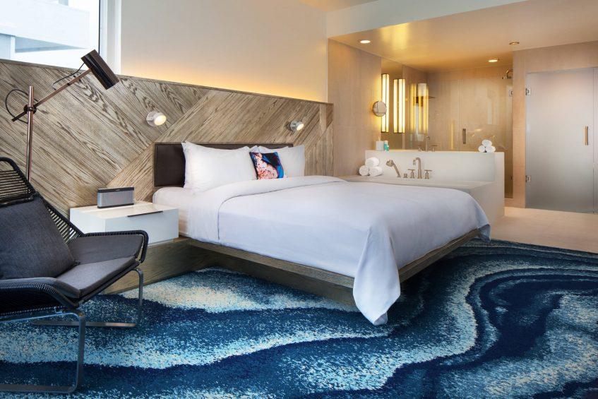 W Fort Lauderdale Luxury Hotel - Fort Lauderdale, FL, USA - Residential Suite Bedroom