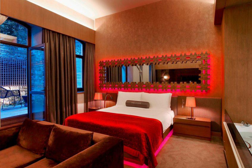 W Istanbul Luxury Hotel - Istanbul, Turkey - Studio Spa Suite Bed