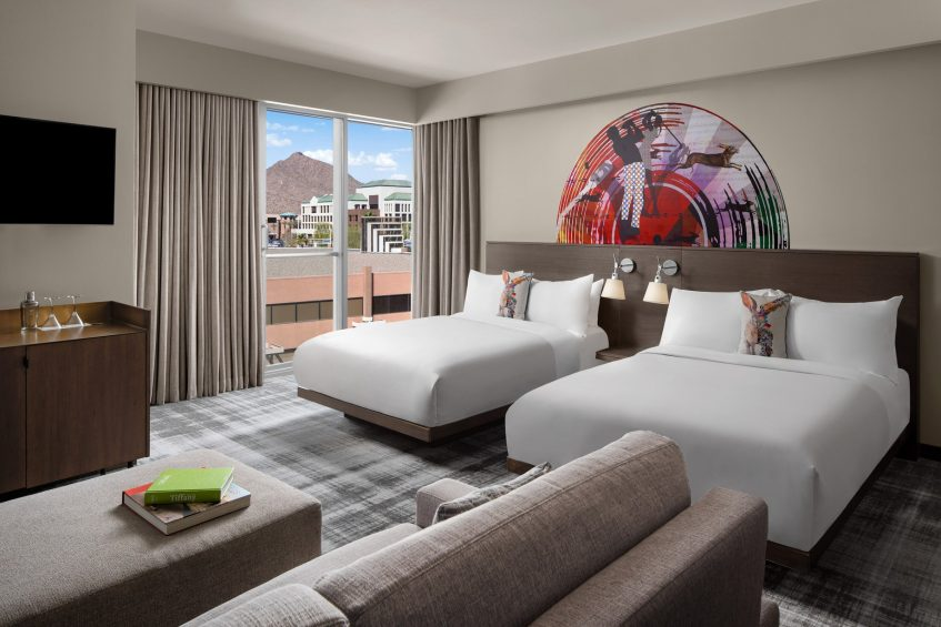 W Scottsdale Luxury Hotel - Scottsdale, AZ, USA - Studio Suite Double