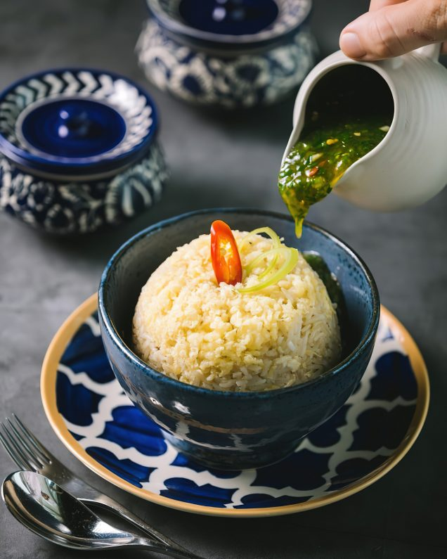 The St. Regis Mumbai Luxury Hotel - Mumbai, India - Hainanese Fried Rice