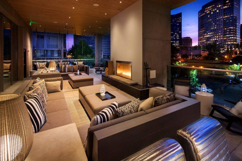 W Bellevue Luxury Hotel - Bellevue, WA, USA - Porch