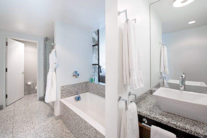 W Boston Luxury Hotel - Boston, MA, USA - Marvelous Suite Bathroom