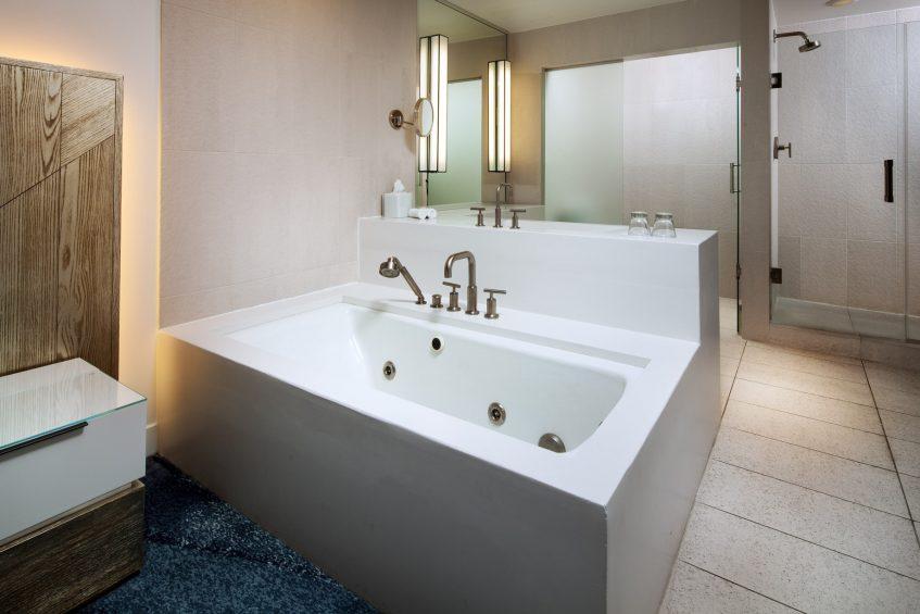 W Fort Lauderdale Luxury Hotel - Fort Lauderdale, FL, USA - Residential Suite Bathroom