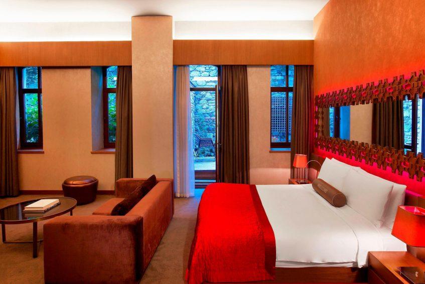 W Istanbul Luxury Hotel - Istanbul, Turkey - Studio Spa Suite Bedroom