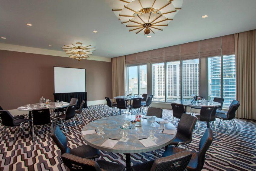W Miami Luxury Hotel - Miami, FL, USA - Studio East
