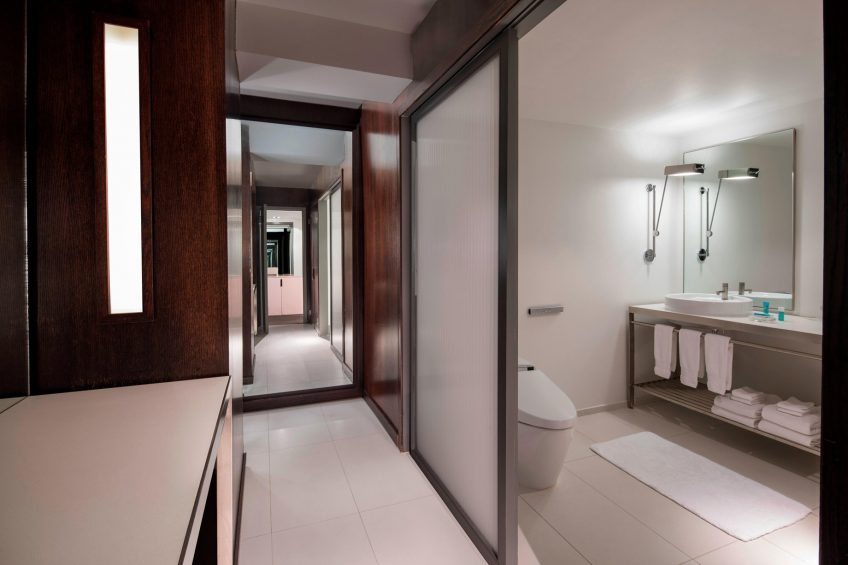 W New York Times Square Luxury Hotel - New York, NY, USA - WOW Suite Bathroom