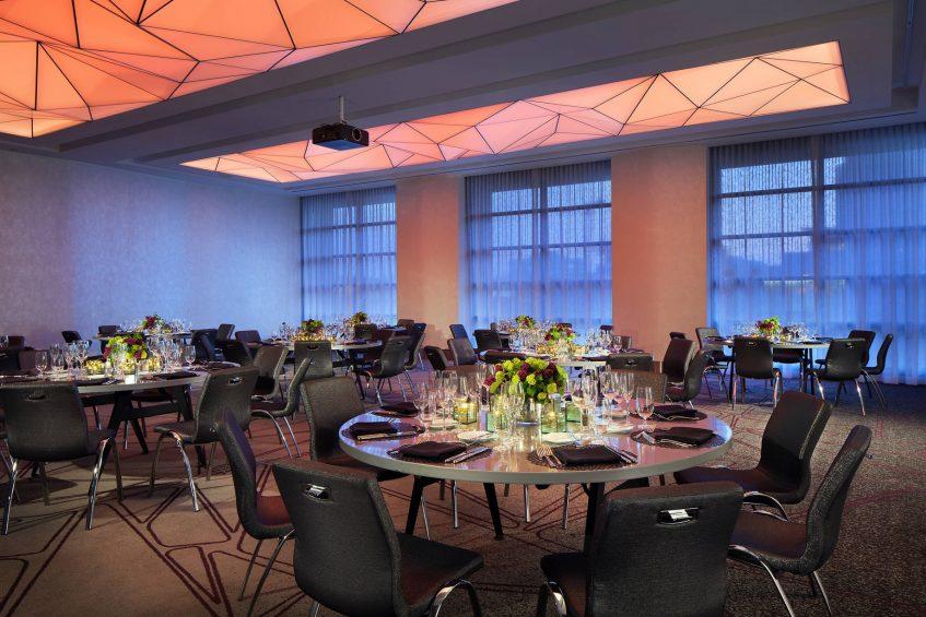 W San Francisco Luxury Hotel - San Francisco, CA, USA - Great Room Social Setup