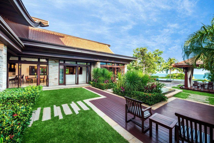 The St. Regis Sanya Yalong Bay Luxury Resort - Hainan, China - Royal Seaside Two Bedroom Villa Outdoor Deck