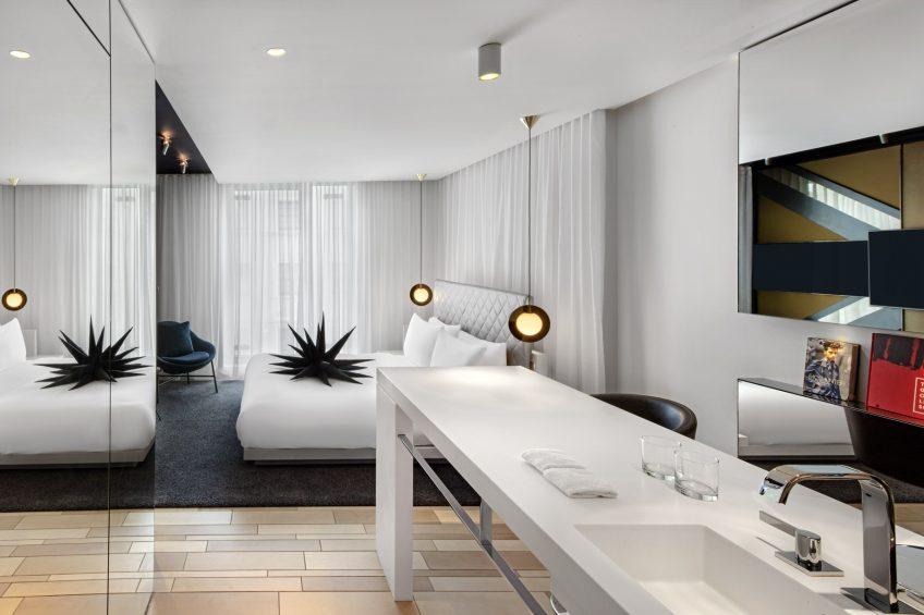 W London Luxury Hotel - London, United Kingdom - Guest Bathroom Sink