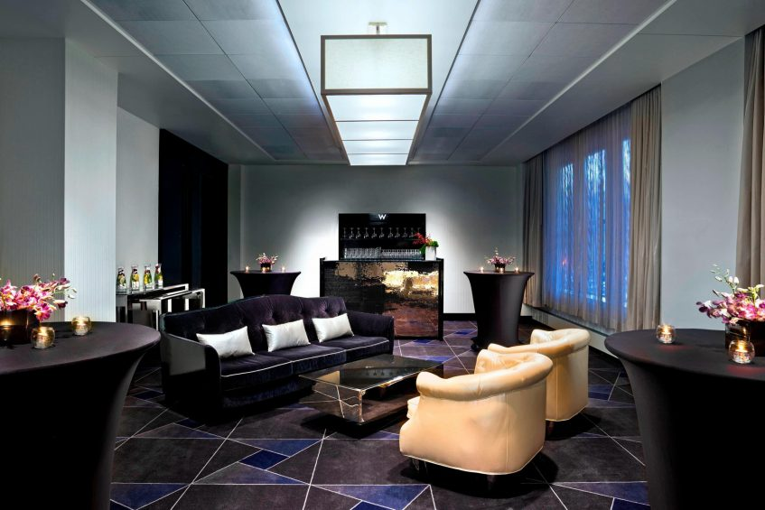 W Minneapolis The Foshay Luxury Hotel - Minneapolis, MN, USA - Strategy Room Seating