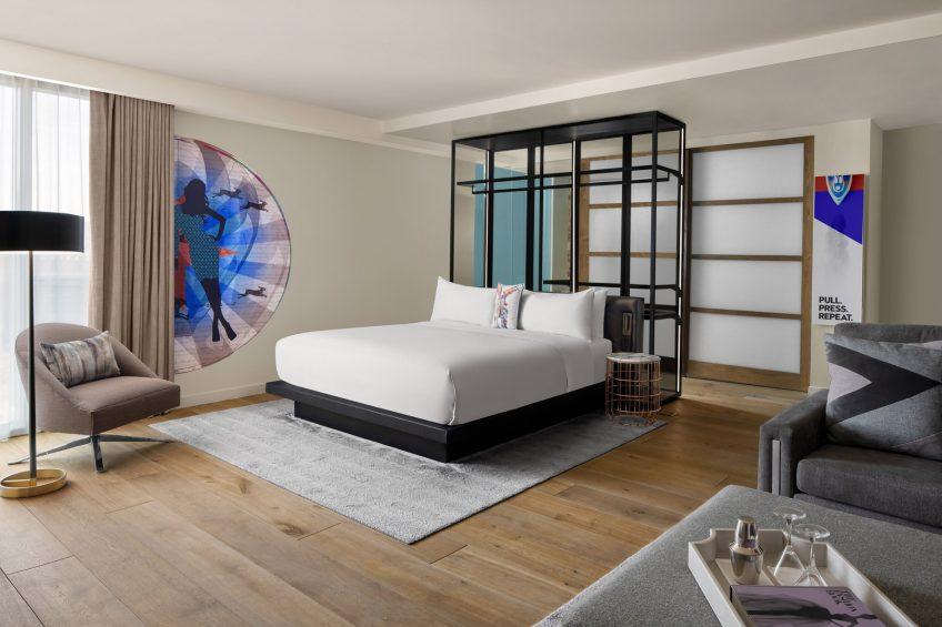 W Scottsdale Luxury Hotel - Scottsdale, AZ, USA - Studio Suite King
