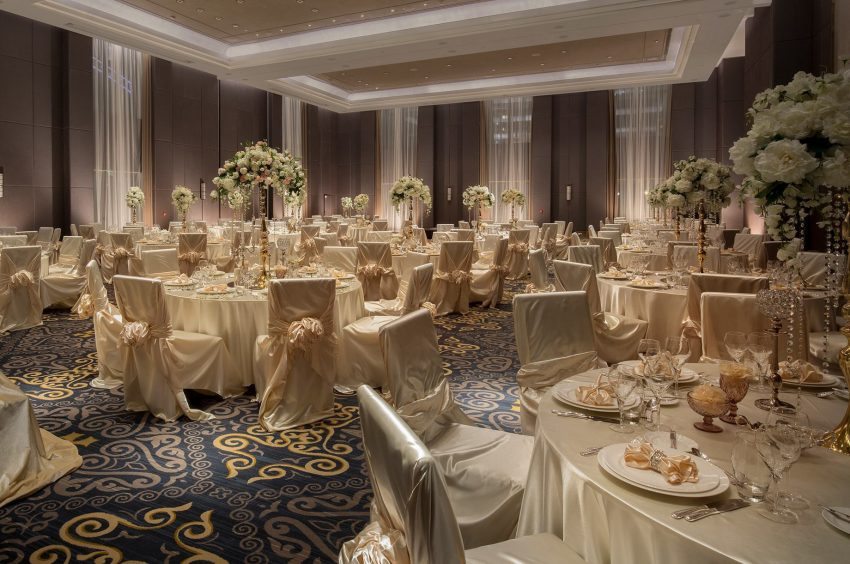 The St. Regis Astana Luxury Hotel - Astana, Kazakhstan - Wedding Reception
