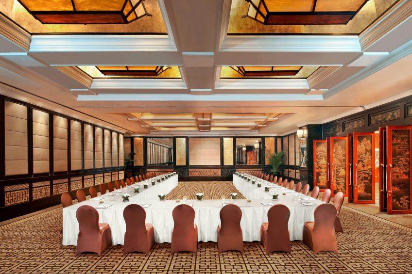 The St. Regis Beijing Luxury Hotel - Beijing, China - Statesman Hall Meeting Room
