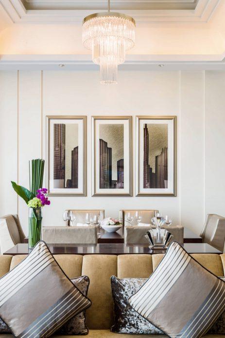 The St. Regis Chengdu Luxury Hotel - Chengdu, Sichuan, China - St. Regis Suite Dining Area