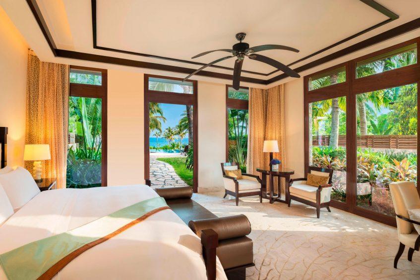 The St. Regis Sanya Yalong Bay Luxury Resort - Hainan, China - Seaside One Bedroom Villa Bedroom