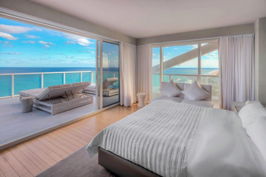 W Fort Lauderdale Luxury Hotel - Fort Lauderdale, FL, USA - Wow Suite Bedroom