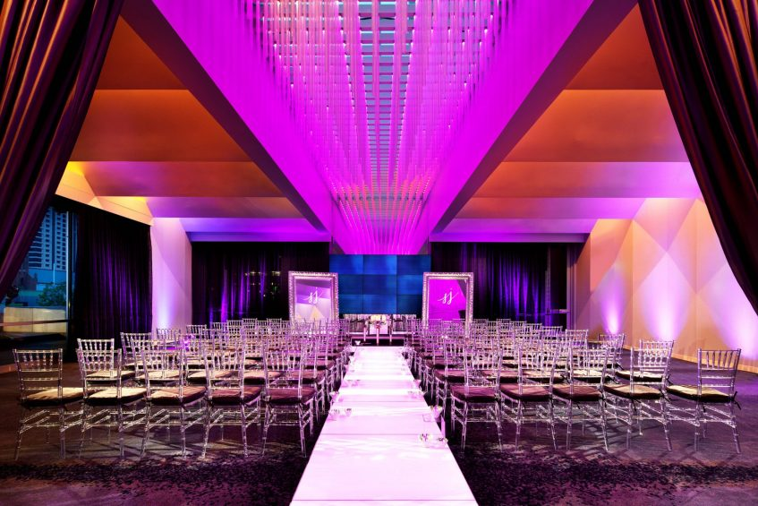 W San Francisco Luxury Hotel - San Francisco, CA, USA - Social Terrace Wedding