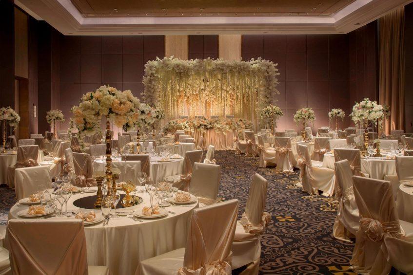 The St. Regis Astana Luxury Hotel - Astana, Kazakhstan - Astor Ballroom Wedding Reception