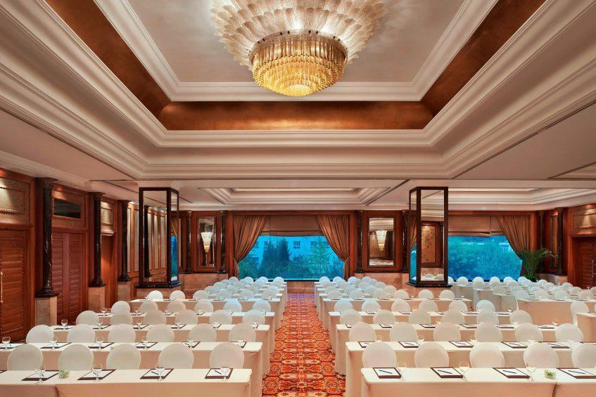 The St. Regis Beijing Luxury Hotel - Beijing, China - Ballroom Meeting
