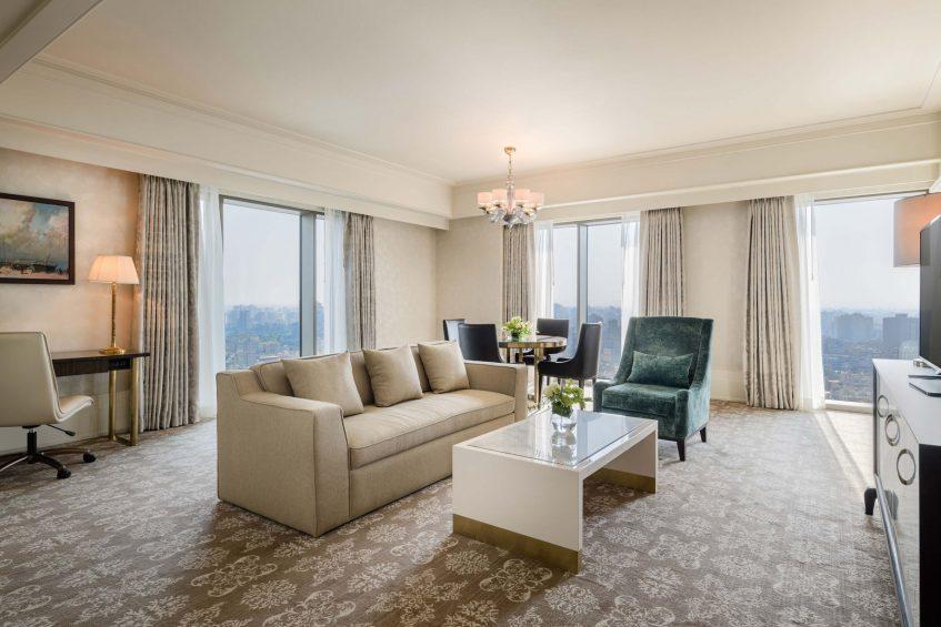 The St. Regis Cairo Luxury Hotel - Cairo, Egypt - Apartment Living Room Design