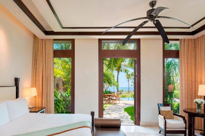 The St. Regis Sanya Yalong Bay Luxury Resort - Hainan, China - Seaside One Bedroom Villa King Bedroom View