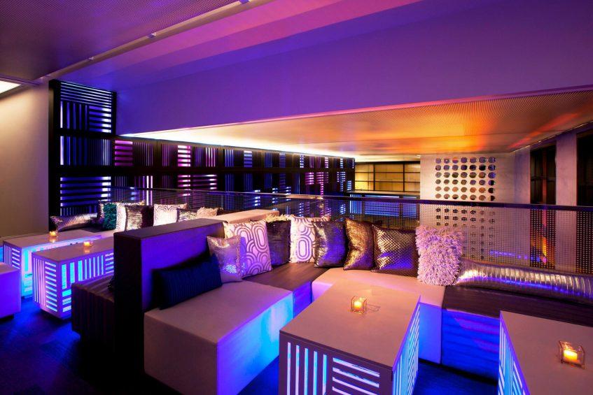 W San Francisco Luxury Hotel - San Francisco, CA, USA - The Living Room Decor